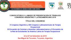 X Congreso Argentino y XIII Congreso Latinoamericano de TO